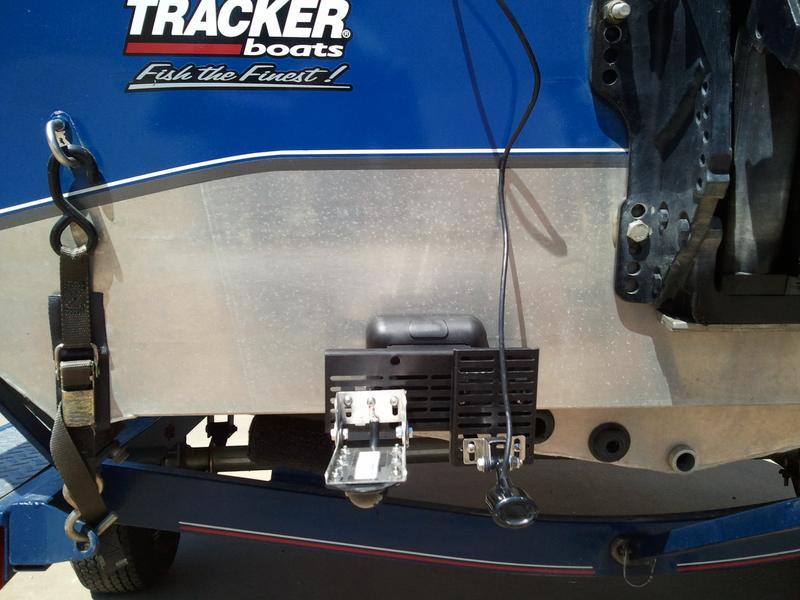 Sternmate Depthfindertransducer Mounting Bracket Plate